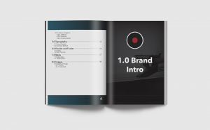 .raw Brand Guidelines created in the Digital Design and Development Program at BCIT