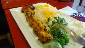 chicken shish kebab Indian Food Vancouver | Monika Szucs