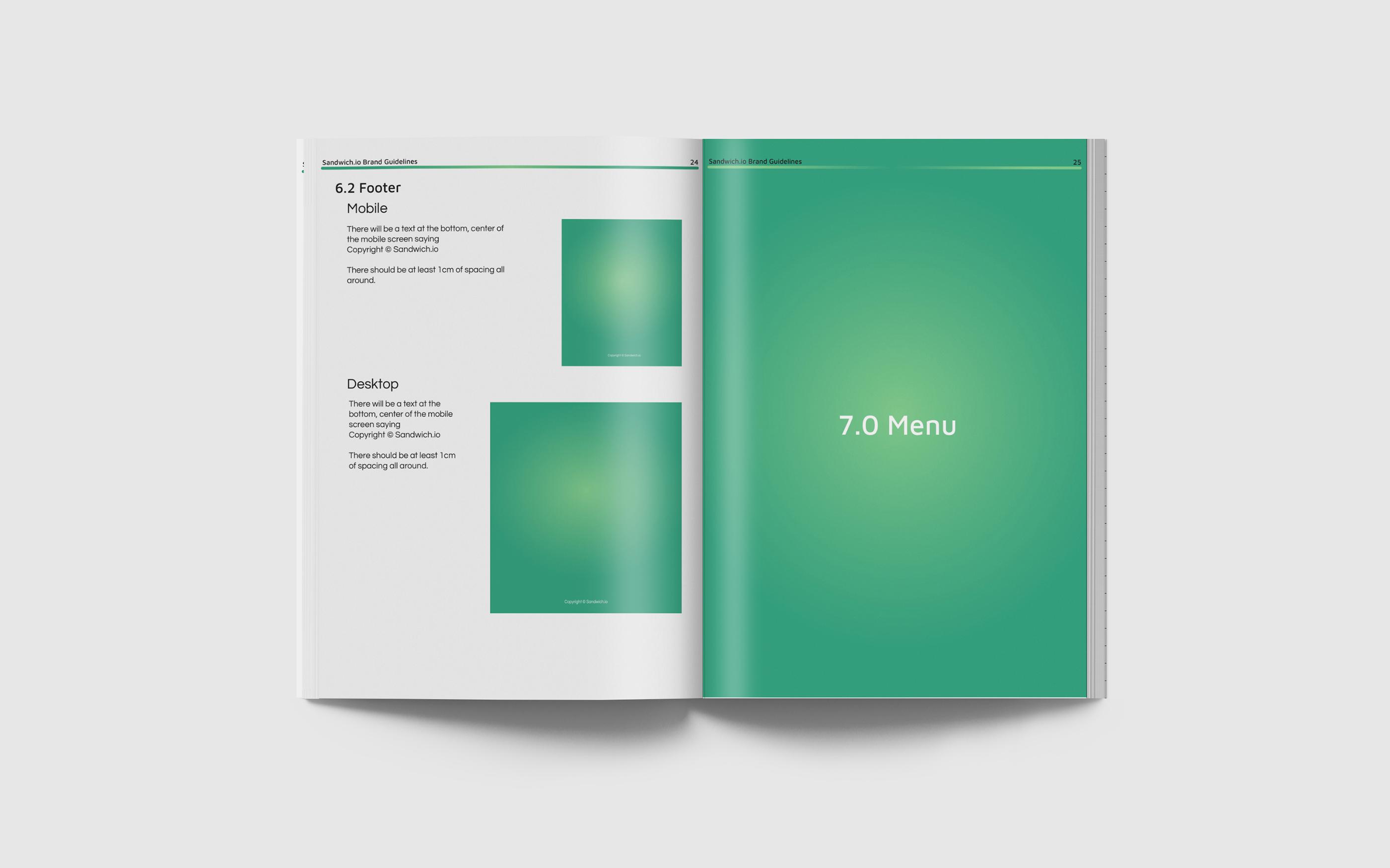 Sandwich.io Brand Guidelines | Monika Szucs | Digital Design and Development Diploma