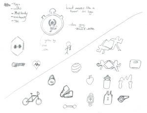 IFit sketches fitness | Monika Szucs