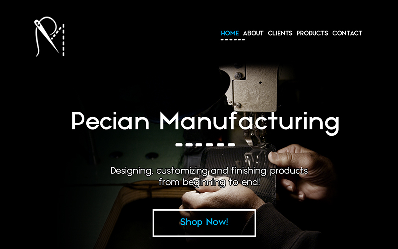 Pecian Manufacturing User Interface and User Experience Design | Monika Szucs