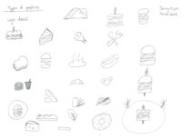 Sketches Sandwich.io D3 BCIT | Monika Szucs