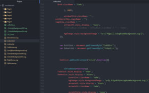 Christmas ECard created using HTML, CSS, and JavaScript | Monika Szucs