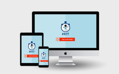 IFIT created using the Google Login API | Monika Szucs