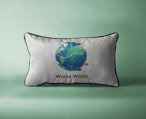 World Waltz Travelling Graphic Design Vancouver tourism bc | Monika Szucs