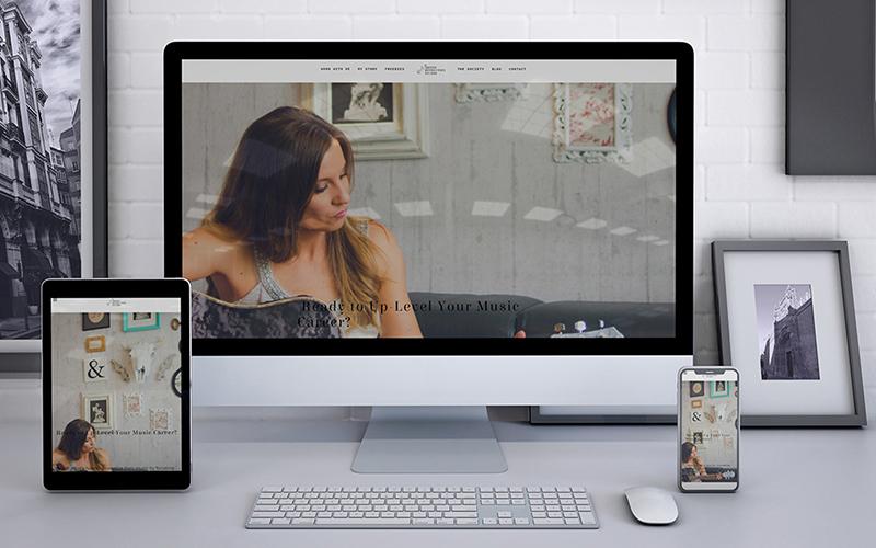 The Artist Revolution Studio Website Design and Development with Studio Media in Vancouver   Monika Szucs