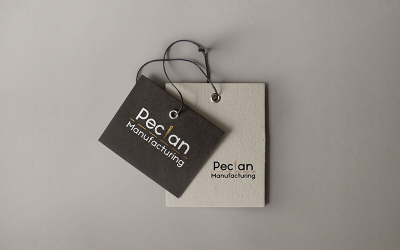 Logo Graphic Design   Pecian Manufacturing   Monika Szucs
