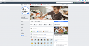 Little Kitchen Academy using Hootsuite to manage Facebook Page under Legendary Social Media contracted Feifei Digital Ltd | Monika Szucs
