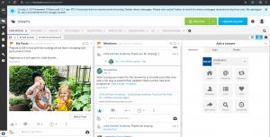 Little Kitchen Academy using Hootsuite to manage Facebook Page under Legendary Social Media contracted Feifei Digital Ltd   Monika Szucs