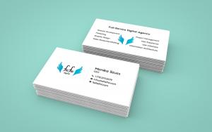 Monika Szucs Full-Service Digital Agency Business Cards