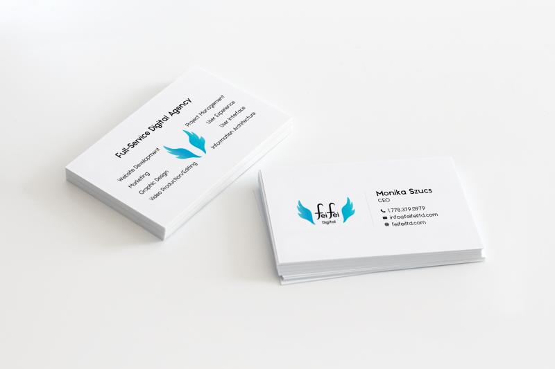 Feifei Digital Logo Graphic Design | Monika Szucs