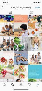 Little Kitchen Academy Children cooking school Vancouver under Legendary Social Media contracted Feifei Digital Ltd | Monika Szucs