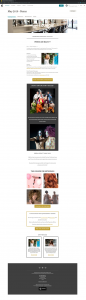 Shampoo Bridal Hair Lounage Hair Studio Newsletter Mailchimps Vancouver created with Legendary Social Media | Monika Szucs