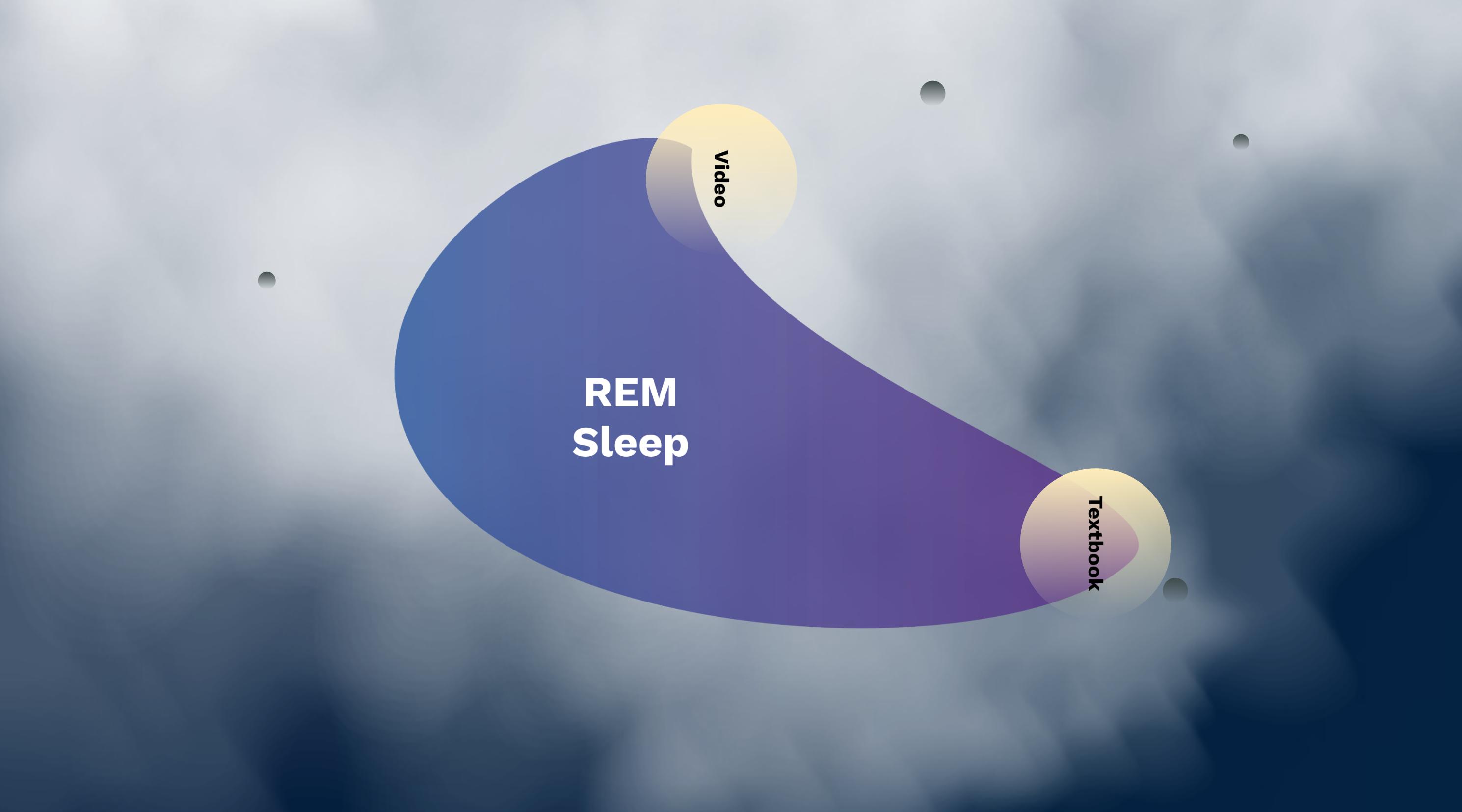 REM stage Dreams Psychology Prezi Presentation for BCIT Psyc 1101 | Monika Szucs