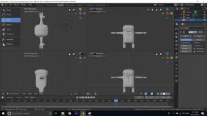 Blender 3D Character creation under Feifei Digital Ltd | Monika Szucs