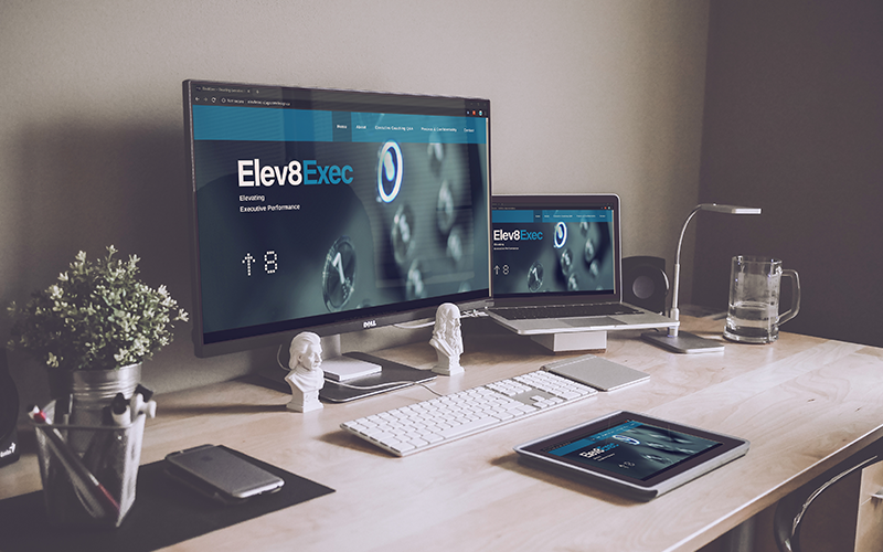 UI/UX and WordPress Website Development | Elev8Exec