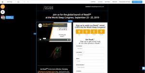 Popup World Sleep Congress 2019 Vancouver Convention Center | Fatigue Science