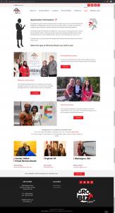 GroYourBiz Application Information Page | User Interface and Front End Development | Feifei Digital | Monika Szucs