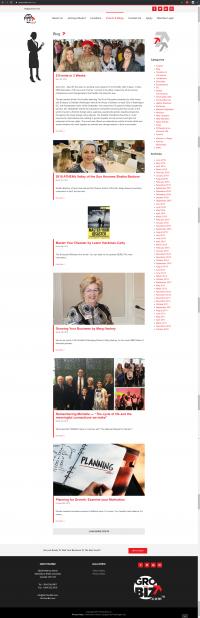 GroYourBiz Blogs Page   User Interface and Front End Development   Feifei Digital   Monika Szucs