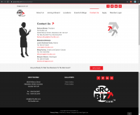 GroYourBiz Contact Us Page | User Interface and Front End Development | Feifei Digital | Monika Szucs