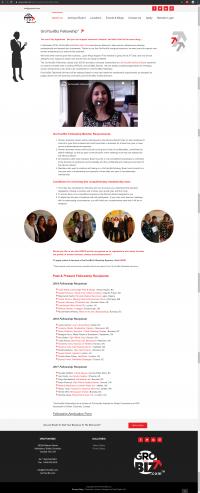 GroYourBiz Fellowships Page   User Interface and Front End Development   Feifei Digital   Monika Szucs