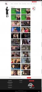 GroYourBiz Videos Page | User Interface and Front End Development | Feifei Digital | Monika Szucs