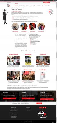 GroYourBiz What is GroYourBiz Page   User Interface and Front End Development   Feifei Digital   Monika Szucs