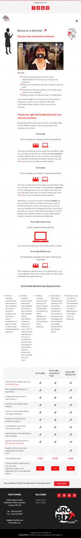 GroYourBiz Become A Member Page   User Interface and Front End Development   Feifei Digital   Monika Szucs