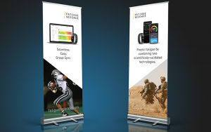 Banners Readiband for Sports and Military | Fatigue Science | Feifei Digital Ltd | Vancouver Digital Agency | Monika Szucs