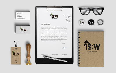 S&W Forest Stationary Designs | Studio Media | Vancouver Digital Agency | Monika Szucs