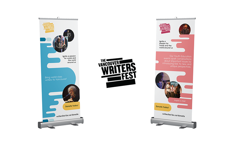 Banners Design | The Vancouver Writers Fest 2019 | ZG Communications